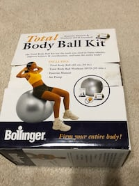 NIB total body ball kit
