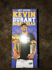 Warriors Kevin Durant NBA Finals MVP Bobblehead San Jose, 95148