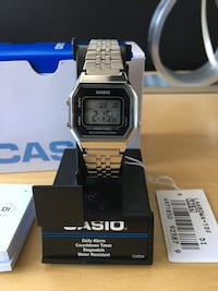 Casio Ladies Mid-Size Silver Tone Digital Retro Watch silver Montréal, H4V 2G4