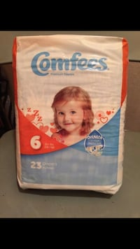 Brand New Packages of Comfees Diapers Providence, 02909
