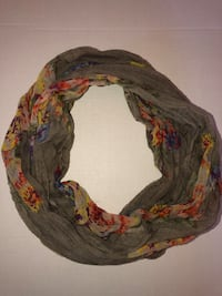 Floral Spring Infinity Scarf