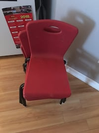 Red toddler chairs Kitchener, N2R 1T4