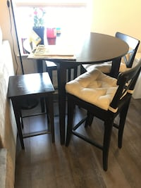 Free Dining table with purchase of two stools Washington, 20008