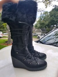 Coach Fur Black Boots (Authentic) Pearland, 77584
