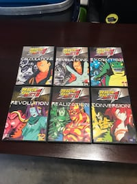 DRAGON BALL GT DVD SET VOLUMES 9-14 Houston, 77041