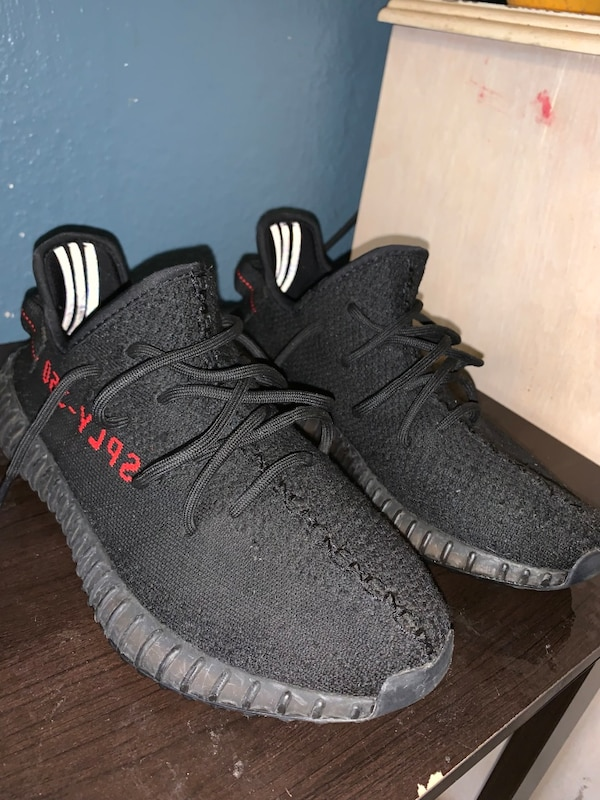 8fd4e57ce6a16 Used Yeezy 350 v2 bred sz8 sale for sale in Philadelphia - letgo
