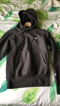 Champion Grey Reverse Weave Hoodie Size XS Small Black/Grey Markham, L3T 6S8