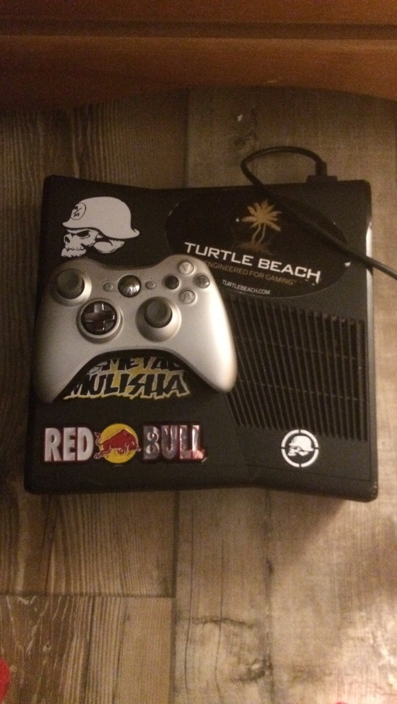 black Xbox 360 console set for sale  Amherst