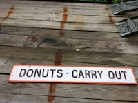 Donut sign Cary, 60013