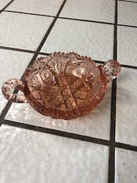 Vintage small pink serving bowl Castro Valley, 94546
