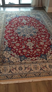 red, white, and blue floral area rug Brampton, L6P 4K9