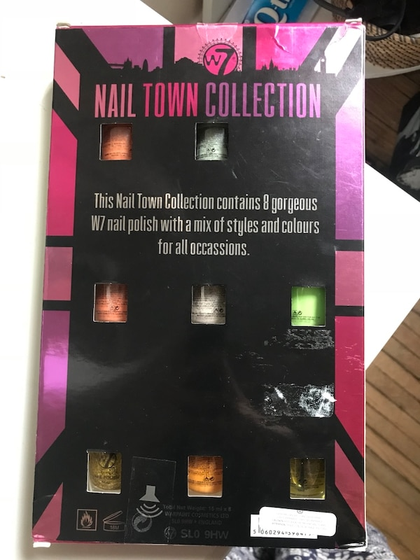 Nail town collection box
