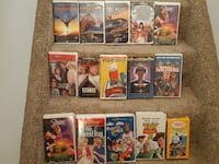 Fifteen (15) Disney & Misc vhs Movies  Pick-up in Newmarket  (Reference # Lot A)  ADD A WORKING VCR FOR $35 ! Newmarket