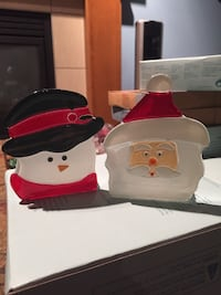two Santa Claus and Snowman busts Calgary, T2Z 0P8