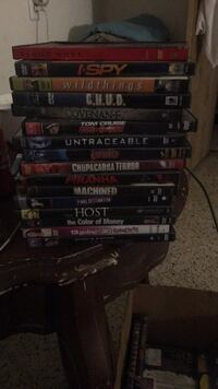 Stack of random dvds Jacksonville, 32211