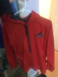 red and black The North Face zip-up jacket Niagara Falls, L2G 4N4