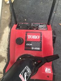 Red and black troy-bilt pressure washer Germantown, 20874