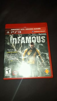 Infamous for ps3 Toronto, M6N