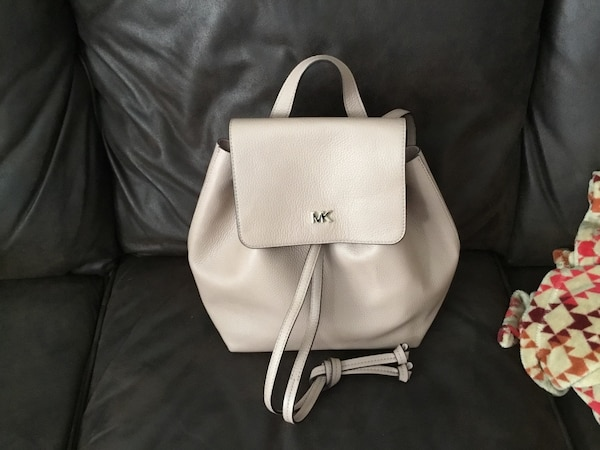 3314ad5af88f Used Michael Kors Fawn colored leather backpack. NWOT  90.00 for sale in  Dallas - letgo