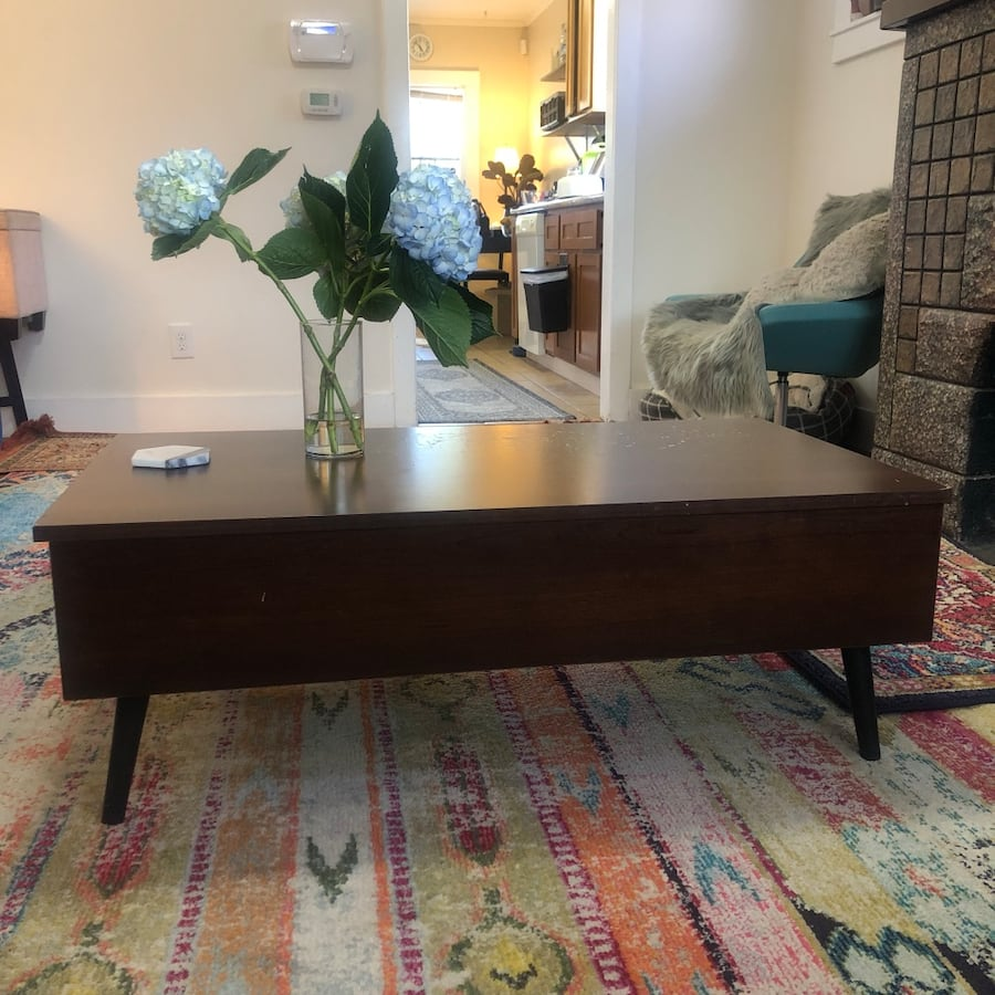 Coffee Table Convertible Dinner Table
