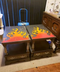 2 project piece end tables Manchester, 17345