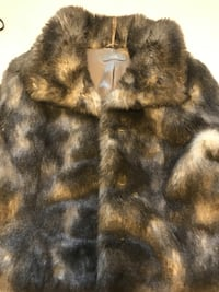 Faux Fur coat / jacket- ladies