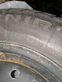 Winter tires and rims, Honda Civic, LIGHT USE, ONLY 5000 KM Mississauga, L5N 7H7