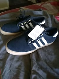 pair of blue-and-white Adidas sneakers Hesperia, 92345