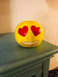 Never Been Used! Emoji Ceramic Coin Bank