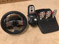 Logitech G27 Racing Steering Wheel w/ Pedals and Shifter Washington, 20032