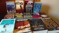 Lot of 13 classic James Patterson paperback books
