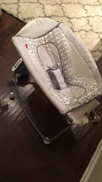 baby's white and gray rock and play sleeper Basking Ridge, 07920