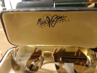 brown and black framed sunglasses Columbia, 21045