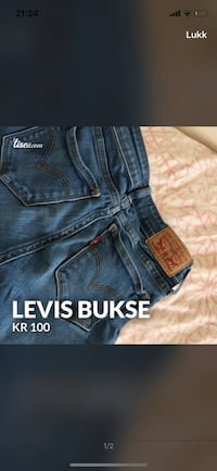 blå denim Miss Me jeans 6011 km