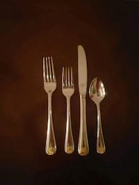 GORHAM golden shell Flatware Clifton, 20124