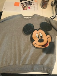 black and white Mickey Mouse-printed textile Langley, V3A 2E1