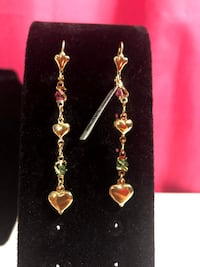 Long Heart Earring Jewelry  Chantilly