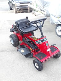 Red and black Snapper mower Evansville, 47711