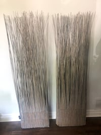 URBAN BARN 6ft Tall Willow Twigs Modern Room Dividers or Decor - Grey Markham, L3P 2P2