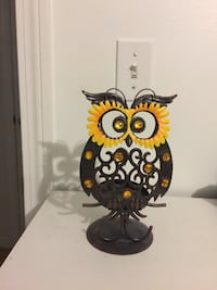 black and brown owl figurine Colchester, 05446