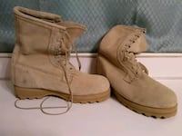 pair of brown suede work boots Sumter, 29150