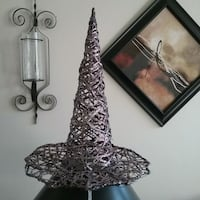 HALLOWEEN PARTY  PROP...WITCH GLITTER HAT  New Port Richey, 34653