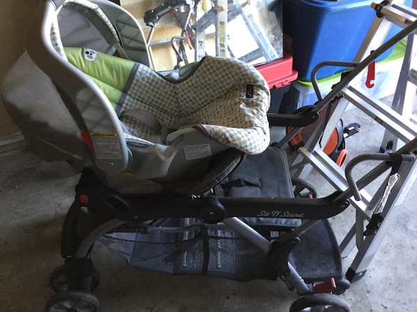 Sit and go double stroller