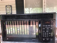 "General Electric over the stove microwave size 30"" wide x 15 deep x 15 1/2tall  the inside measures 19 wide x 8 3/4 tall x 13 1/2 deep. Also has a child lock so the numbers won't work if pressed. Villa Rica, 30180"