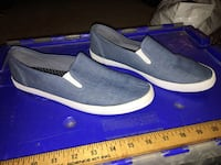 pair of black slip-on shoes 1156 mi