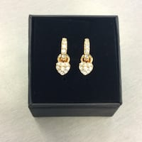 Swarovski Earrings Gold Colored  Mississauga, L5J 1J7