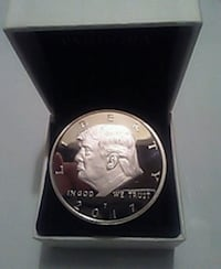 Dipped in silver Donald trump coin  Schenectady, 12305