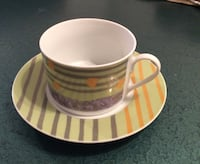 Cup and saucer set Montréal, H8R 2X5