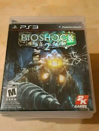 PS3 Bioshock 2 game