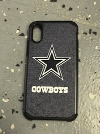 Iphone x cowboys case